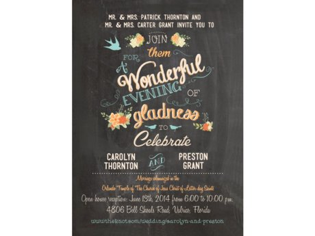 Personalized Announcements/Invites