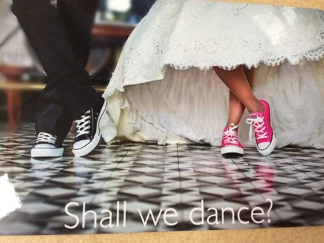 Shall We Dance Magnet Postcard