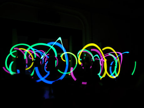 Poi, Glowsticking Lesson over Skype