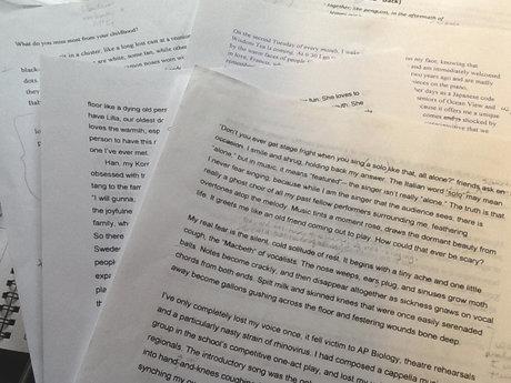 Proofreading/Copyediting