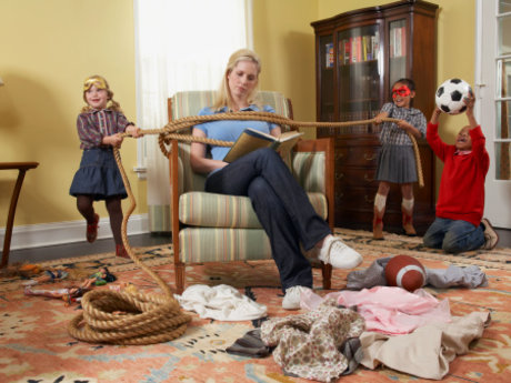 Kids Want to do Chores