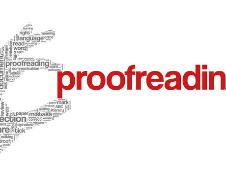 5-page proofread