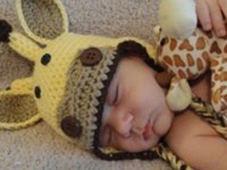 Custom Crocheted Baby Hat