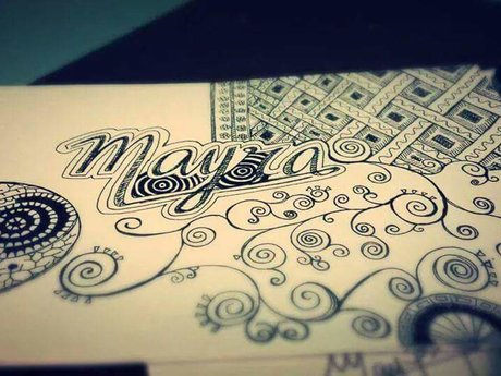 DOODLING with your NAME