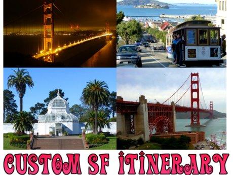 Custom San Francisco trip itinerary