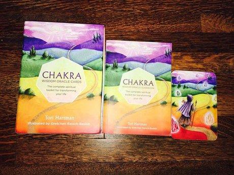 Chakra Wisdom Oracle Card Reading