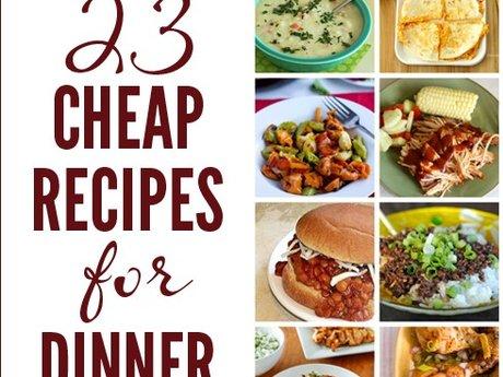 Cheap Easy Recipe's
