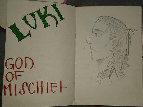 Loki, God of Mischief