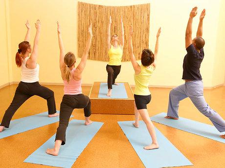 60-minute yoga class
