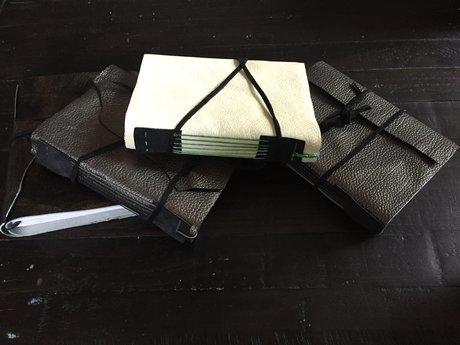 Custom hand-bound book medium/large