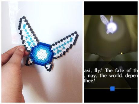 Glowing Navi Zelda Perler Bead