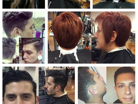 Women and men's trending haircuts