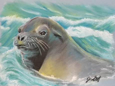 Pastel Animal Artwork