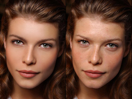 Photo retouching & blemish removal
