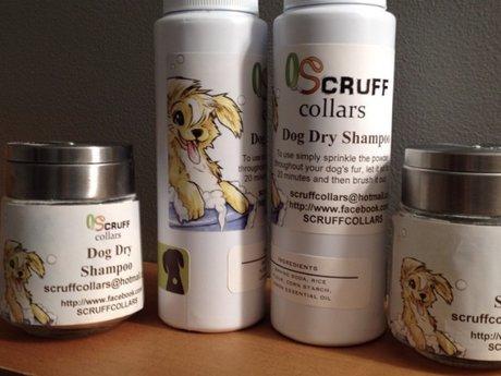 Dog Dry Shampoo Recipe