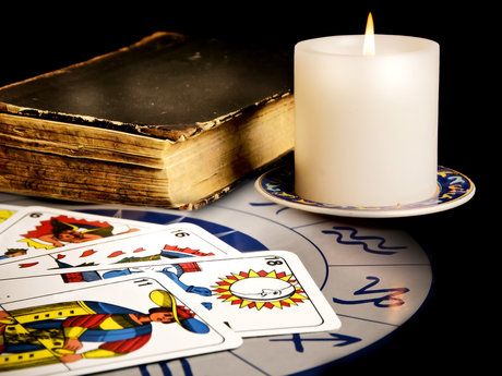 Tarot reading.