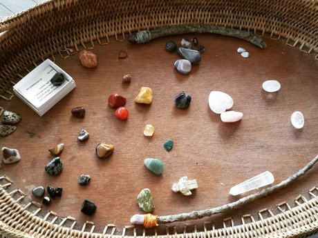 Custom distance crystal healing