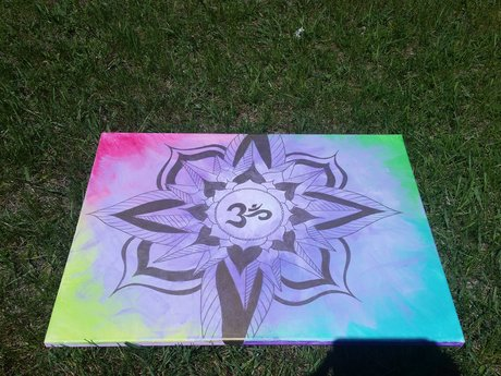 OM energy painting for KJ SOLD