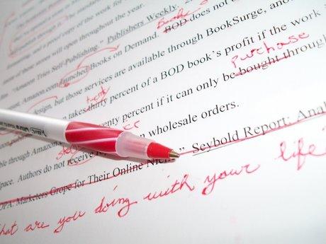 Edit your written document