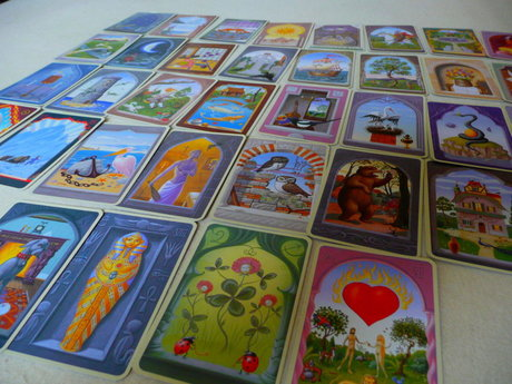 Ask me about the Lenormand cards