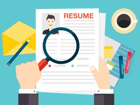 Resume edit and proofing