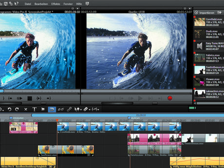 Home video editing