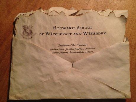 Hogwarts Acceptance Letter - Custom