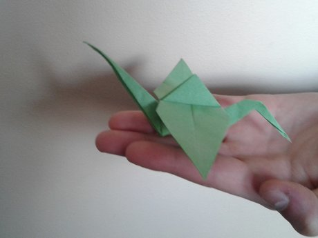 Origami in the Mail
