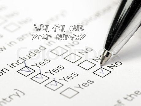 Will fill out your survey!