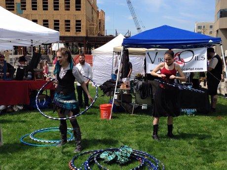 Hula hoop lessons