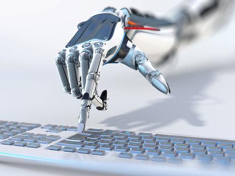 Data Entry Robot