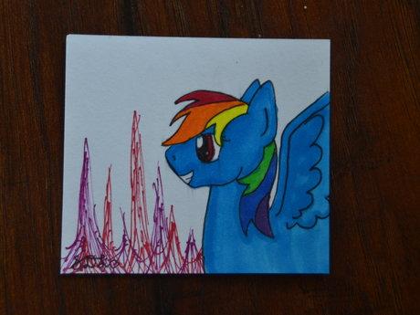 Rainbow Dash Head Shot