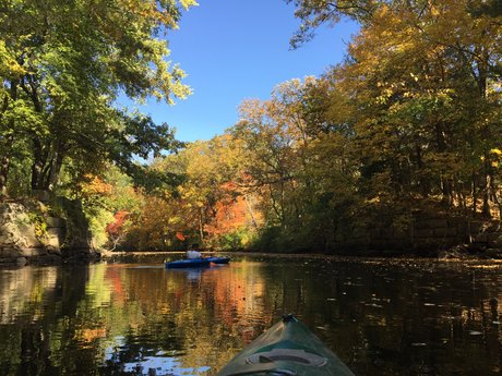 Canoe/kayak adventure in Natick, MA