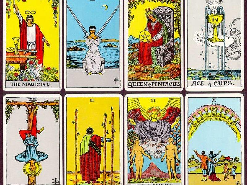 Tarot Reading! 1-5 cards  - Square Au - Simbi