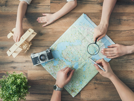 European travel planner