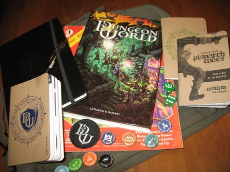 Dungeon World session