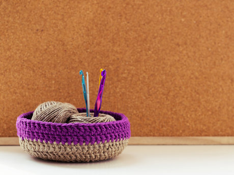 Knitting or crocheting lessons