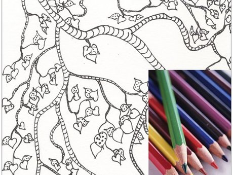Coloring Page Download - Branch