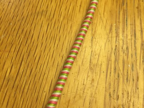 Watermelon Swirl Thread Bracelet