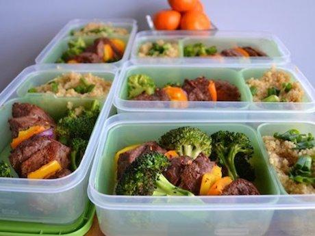 7 days of freezer meals