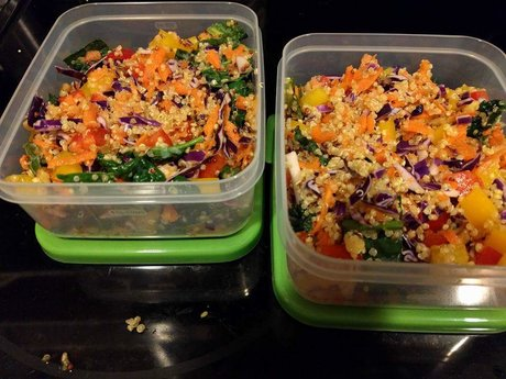 Recipe: Rainbow Quinoa Salad