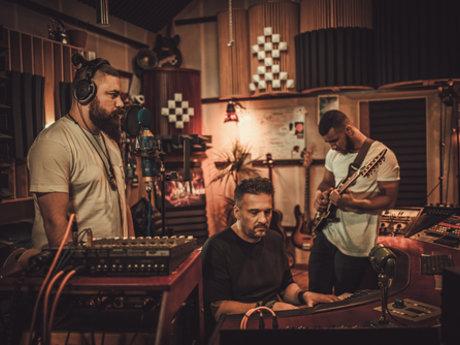 Small recording studio
