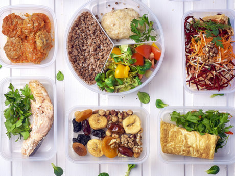 Fast, healthy meals cooking