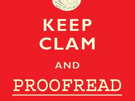 Proofreading, editing, and feedback