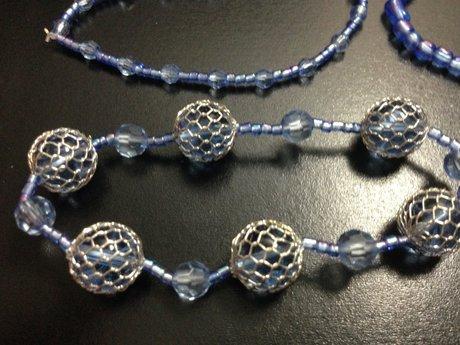 6 Blue Bracelets!