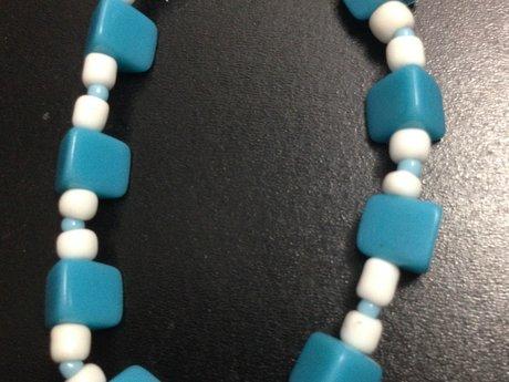 Turquoise beach-y bracelet