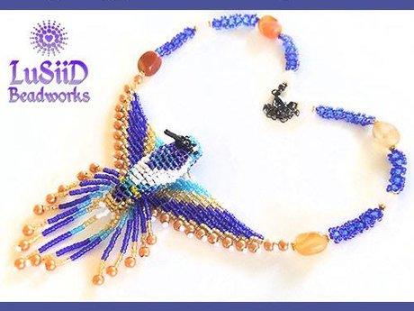 Healing Crystal Hummingbirds
