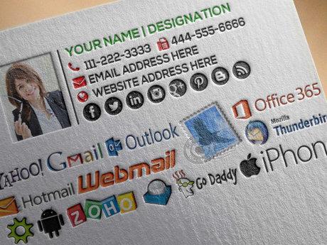 I Will Design Your Email Signature