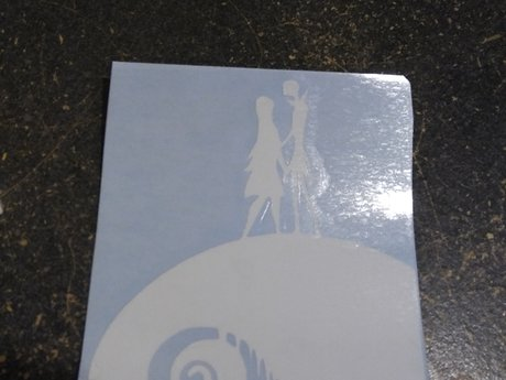 Jack and Sally vinyl decal