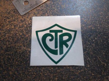 CTR vinyl decal